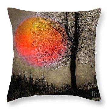 First Light Throw Pillow