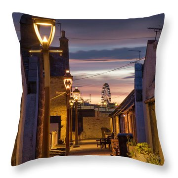 Fittie At Night Throw Pillow