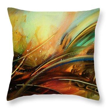 Flight Throw Pillow by Michael Lang