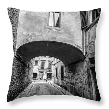 Florence Street Throw Pillow