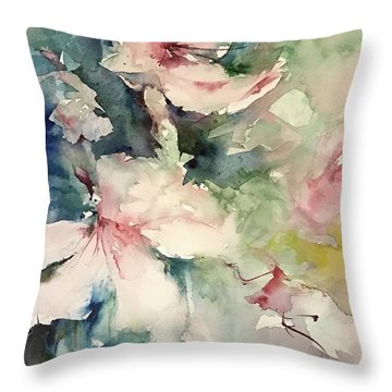 Flower Series 2017 Throw Pillow