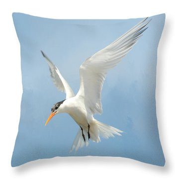 Flutter 2 Throw Pillow