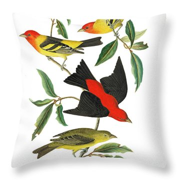 Throw Pillow featuring the photograph Flying Away by Munir Alawi