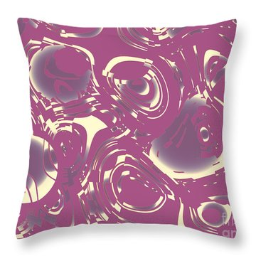 Flying Trapeze  Throw Pillow