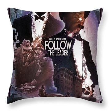 Follow The Leader 2 Throw Pillow