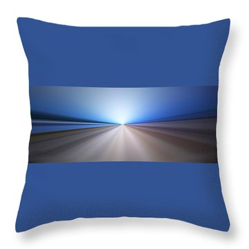 Follow The Light Throw Pillow