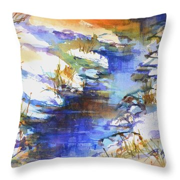 For Love Of Winter #3 Throw Pillow