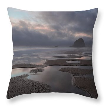 Forbidden Coast Throw Pillow