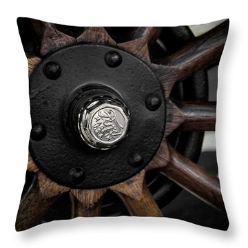 Ford  Throw Pillow by Off The Beaten Path Photography - Andrew Alexander