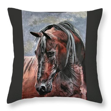 Forever Throw Pillow by Melita Safran