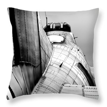 Fortress Of Steel Throw Pillow