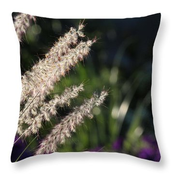 Foxtail Throw Pillow