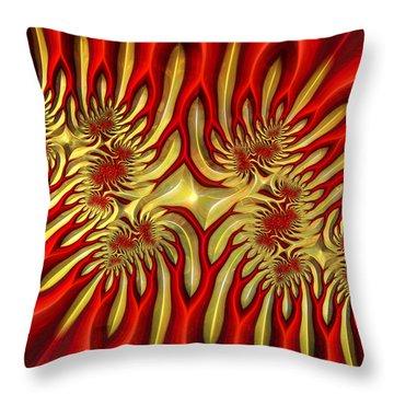 Fractal Landscape IIi Throw Pillow