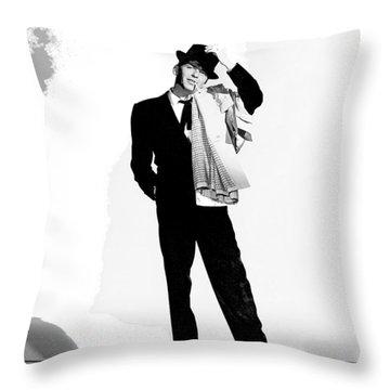 Frank Sinatra Pal Joey Set 1 1957-2015 Throw Pillow