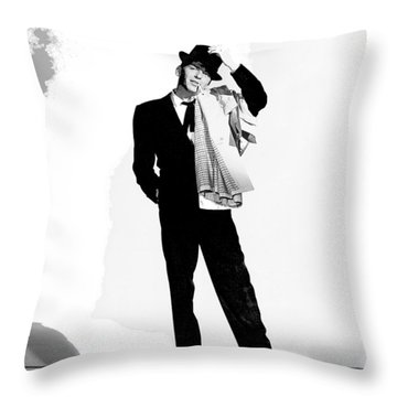 Frank Sinatra Pal Joey Set 1 1957-2015 Throw Pillow