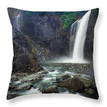 Franklin Falls Throw Pillow