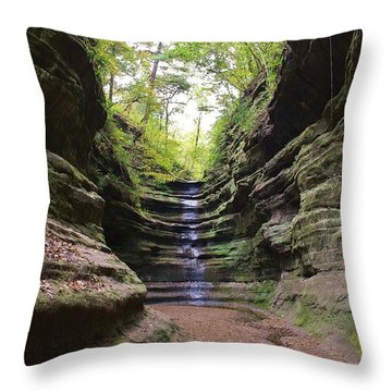 French Canyon Throw Pillow