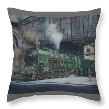 French Pacific Throw Pillow