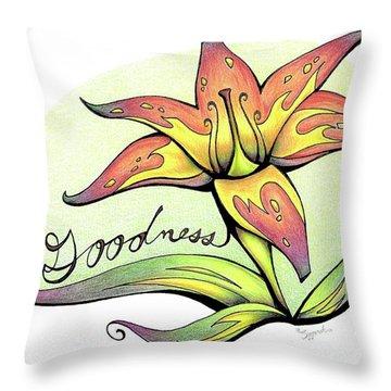 Fruit Of The Spirit Series 2 Goodness Throw Pillow