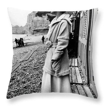 Gabrielle Coco Chanel Throw Pillow