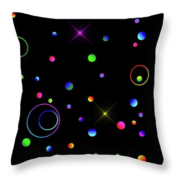 Throw Pillow featuring the photograph Galaxy X by Mark Blauhoefer