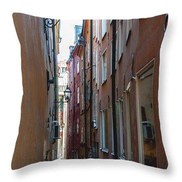 Gamla Stan Throw Pillow