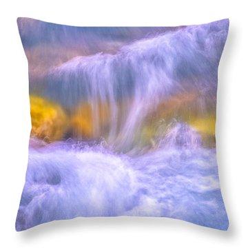 Gavarnie Torrent Throw Pillow
