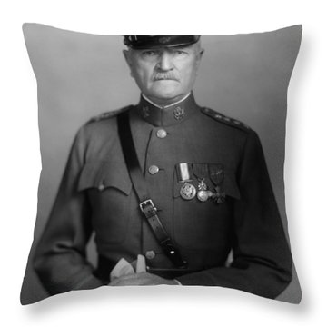 General John Pershing Throw Pillow