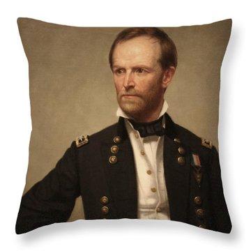 Civil War Generals Throw Pillows