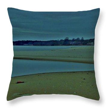 Georgica Pond Throw Pillow