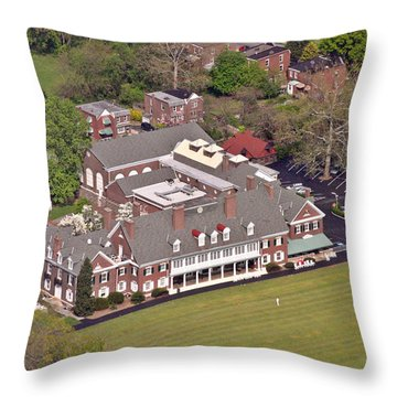 Merion Cricket Club Throw Pillows