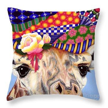 Gertie's New Hat Throw Pillow