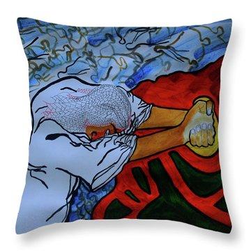 Gethsemane Throw Pillow