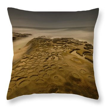 Ghost Photographer Throw Pillow
