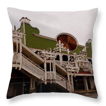 Ghostcasino Throw Pillow