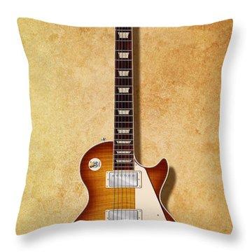 Gibson Les Paul Since 1952 Throw Pillow