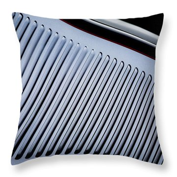 Throw Pillow featuring the photograph Gills by Rebecca Cozart