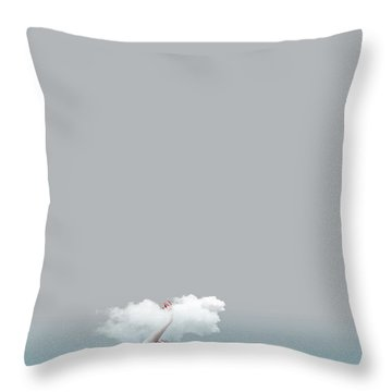 Girl In Soul Throw Pillow