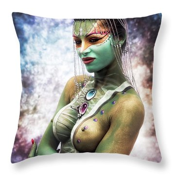 Giuly Throw Pillow