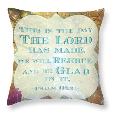 Give Thanks To The Lord, For He Is Throw Pillow