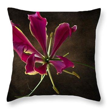 Gloriosa Superba Throw Pillow by Endre Balogh