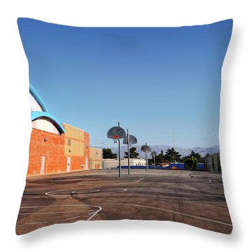 Goals In Perspectives Throw Pillow