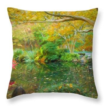 God Is A Designer Throw Pillow