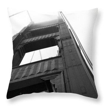 Golden Gate Tower 2 Throw Pillow
