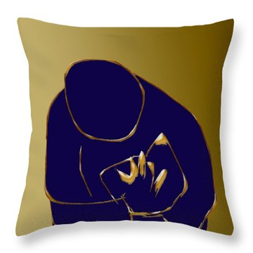 Good Read Throw Pillow by Asok Mukhopadhyay