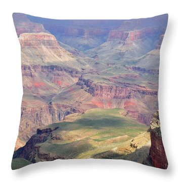 Grand Canyon 2 Throw Pillow by Debby Pueschel