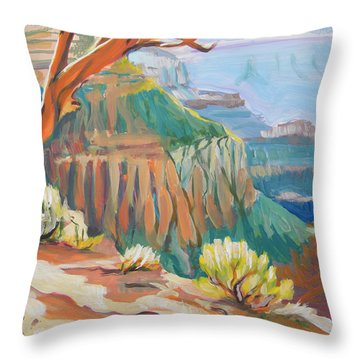 Grand Canyon 3 Throw Pillow