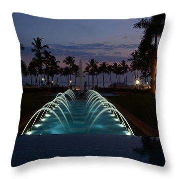 Grand Wailea Resort Throw Pillow