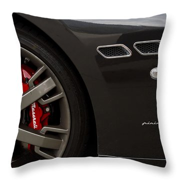 Granturismo Throw Pillow