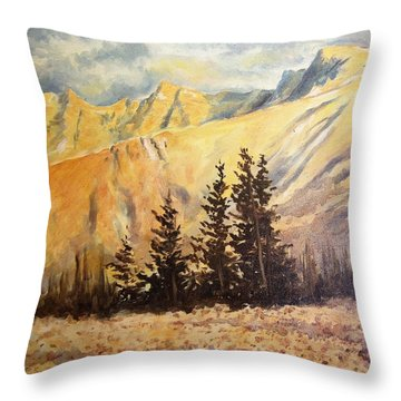 Great Basin National Park Nevada Throw Pillow by Kevin Heaney